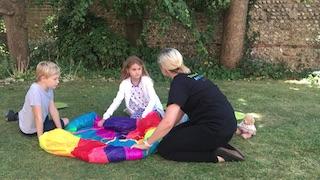 Parachute craddle 1